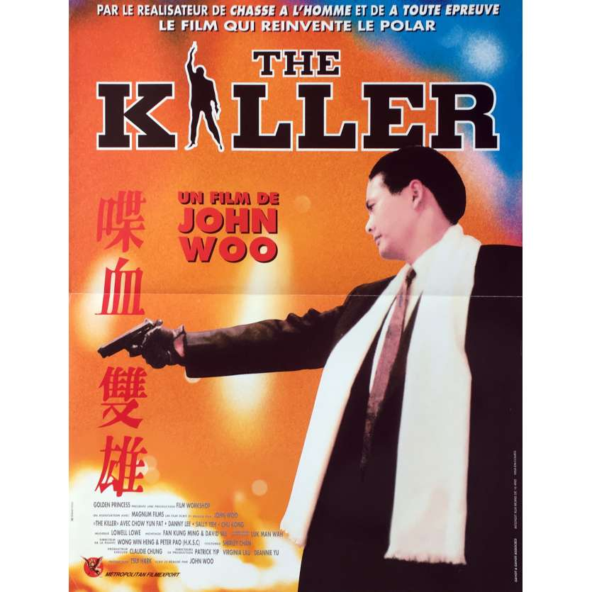THE KILLER Afiche 40x60 FR '89 John Woo, Chow Yun Fat