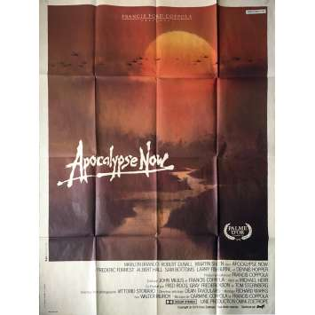 APOCALYPSE NOW French Movie Poster 47x63 '79 F.F Coppolla Marlon Brando