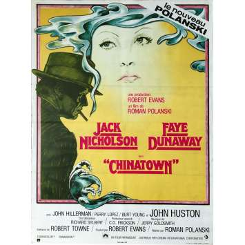 CHINATOWN French movie poster 15x21 '74 Jack Nickolson, Roman Polanski Poster