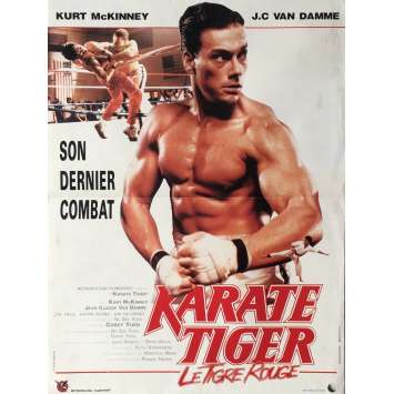 NO RETREAT, NO SURRENDER Movie Poster 15x21 in. - 1986 - Corey Yuen, Jean-Claude Van Damme