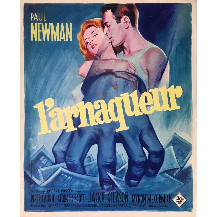 L'ARNAQUEUR Affiche de film 40x60 cm - 1961 - Paul Newman, Robert Rossen