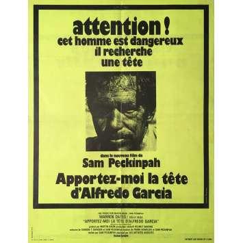 APPORTEZ-MOI LA TETE D'ALFREDO GARCIA Affiche de film 60x80 cm - 1974 - Warren Oates, Sam Peckinpah