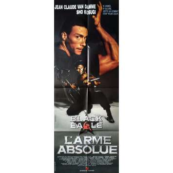 BLACK EAGLE L'ARME ABSOLUE Movie Poster 23x63 in. - 1988 - Eric Karson, Jean-Claude Van Damme