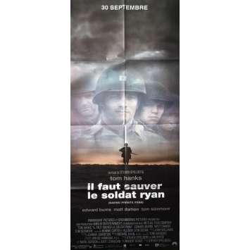 IL FAUT SAUVER LE SOLDAT RYAN Affiche de film 60x160 cm - 1998 - Tom Hanks, Steven Spielberg
