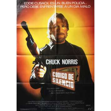 CODE OF SILENCE Movie Poster 29x40 in. - 1985 - Andrew Davis, Chuck Norris