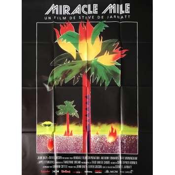 MIRACLE MILE - APPEL D'URGENCE Affiche de film 120x160 - R2017 - Steve De Jarnatt