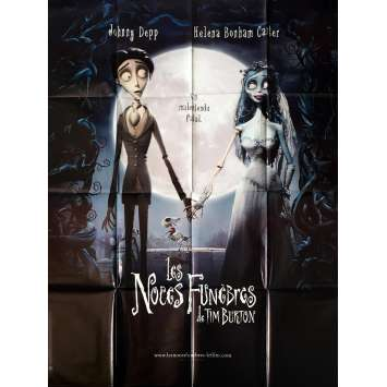 NOCES FUNEBRES Affiche 120x160 FR '05 Tim Burton, Johnny Deep Movie Poster