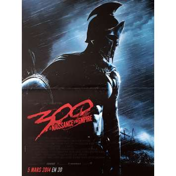 300, RISE OF THE EMPIRE French Movie Poster 15x21- 2014 - Zack Snyder, Sullivan Stappleton