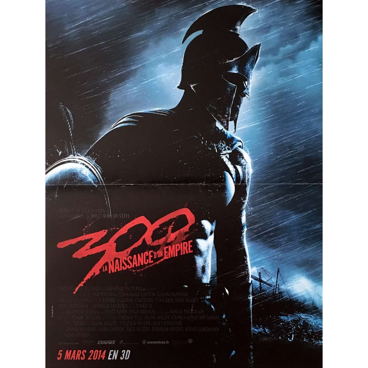 300, RISE OF THE EMPIRE Movie Poster
