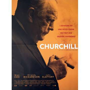 CHURCHILL Affiche de film 40x60 cm - 2017 - Brian Cox, Jonathan Teplitzky