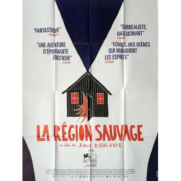 LA REGION SAUVAGE Affiche de film 120x160 cm - 2017 - Kenny Johnston, Amat Escalante
