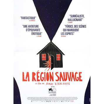 LA REGION SAUVAGE Affiche de film 40x60 cm - 2017 - Kenny Johnston, Amat Escalante