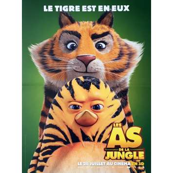 THE JUNGLE BUNCH Movie Poster 15x21 in. - 2017 - David Alaux, Eric Tosti