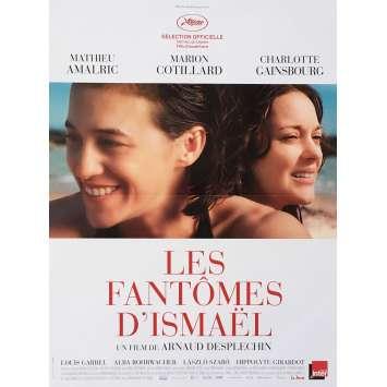 LES FANTOMES D'ISMAEL Affiche de film 40x60 cm - 2017 - Marion Cotillard, Arnaud Despechin