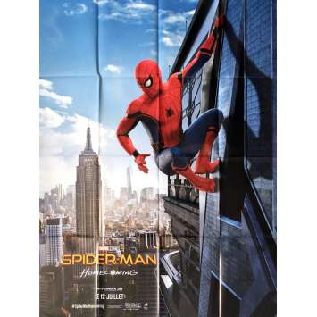 SPIDER-MAN HOMECOMING Affiche de film 120x160 cm - 2017 - Tom Holland, Jon Watts
