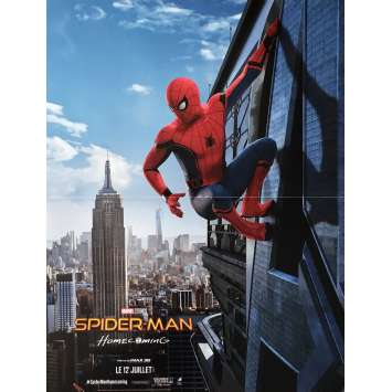 SPIDER-MAN HOMECOMING Affiche de film 40x60 cm - 2017 - Tom Holland, Jon Watts