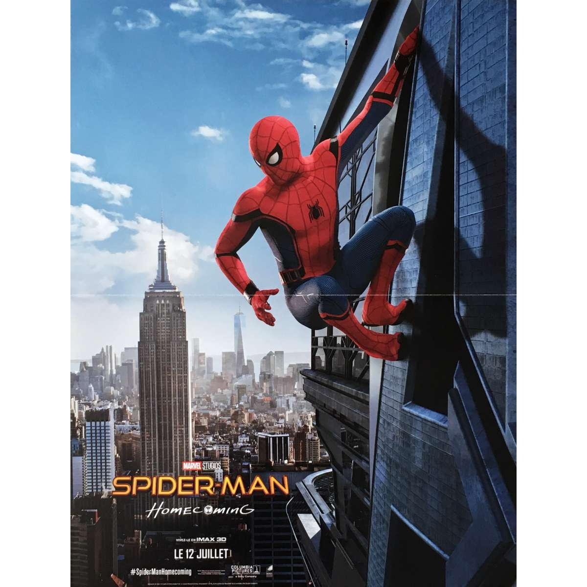 SPIDER-MAN HOMECOMING Movie Poster 15x21 in.