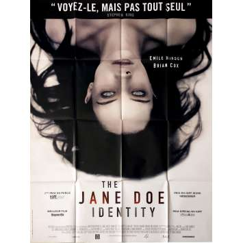 THE AUTOPSY OF JANE DOE Movie Poster 47x63 in. - 2017 - André Ovredal, Brian Cox