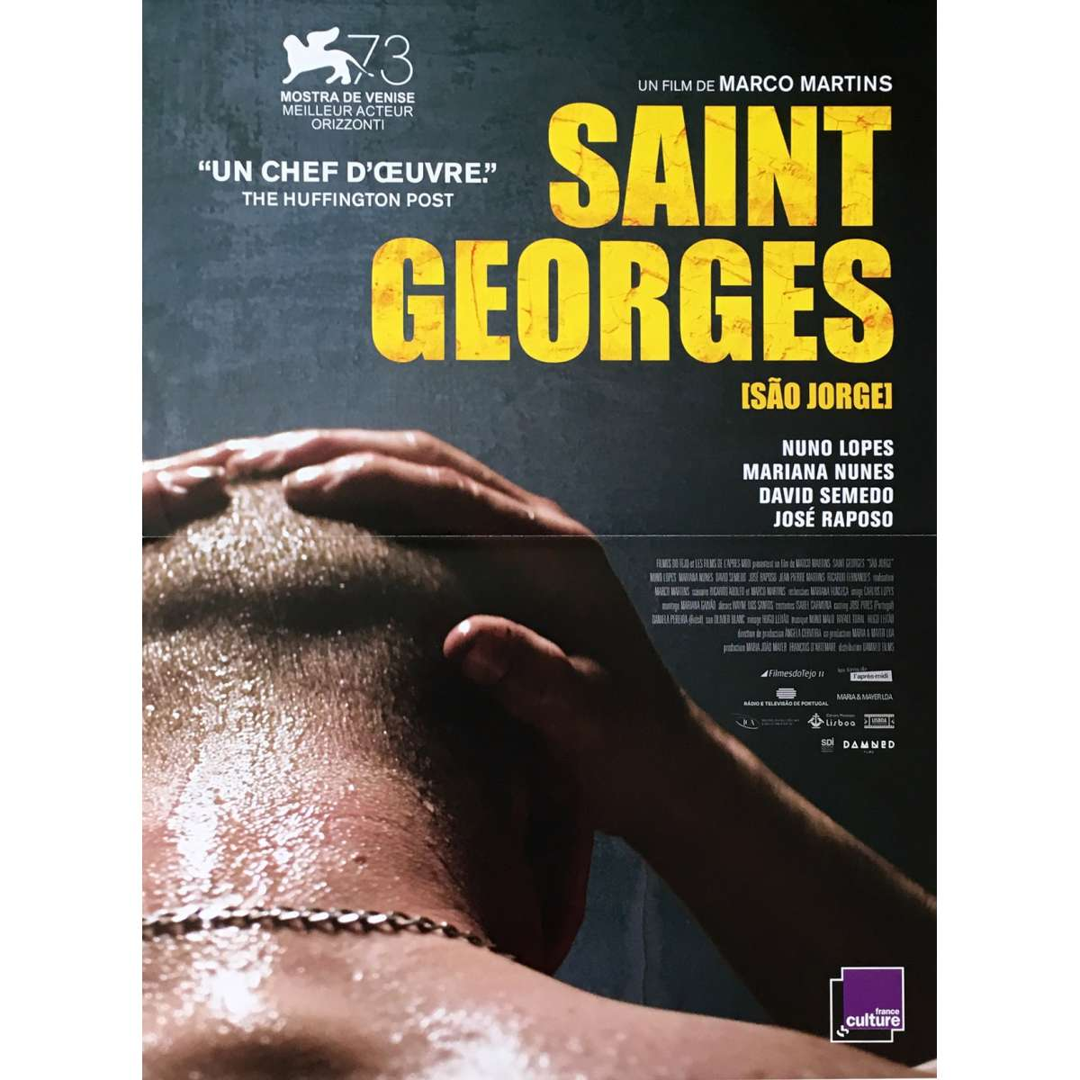 SAO JORGE Movie Poster 15x21 in.