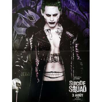 SUICIDE SQUAD - JOKER Movie Poster 15x21 in. - 2016 - David Ayer, Jared Leto