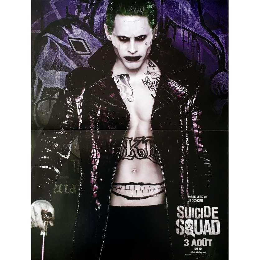 SUICIDE SQUAD - JOKER Affiche de film 40x60 cm - 2016 - Jared Leto, David Ayer