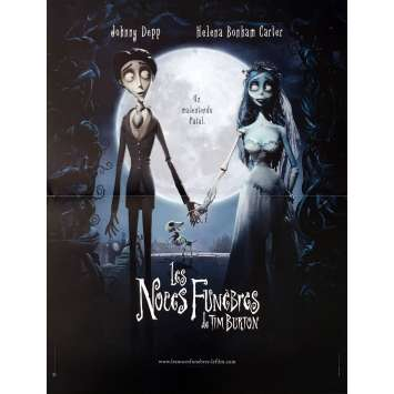 CORPSE BRIDE Movie Poster 15x21 in. - 2005 - Tim Burton, Johnny Depp