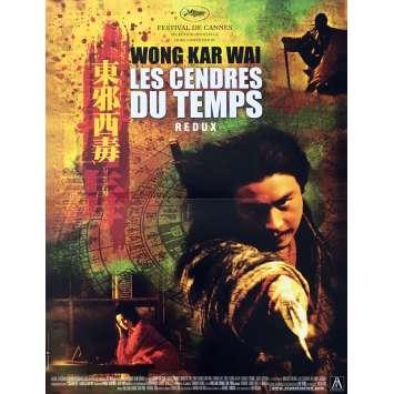 LES CENDRES DU TEMPS Affiche de film 40x60 cm - R2000 - Tony Leung, Wong Kar-Wai