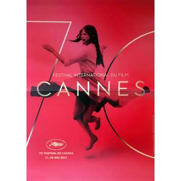 CANNES FESTIVAL 2017 Movie Poster 15x21 in. - 2017 - Claudia Cardinale, RARE!