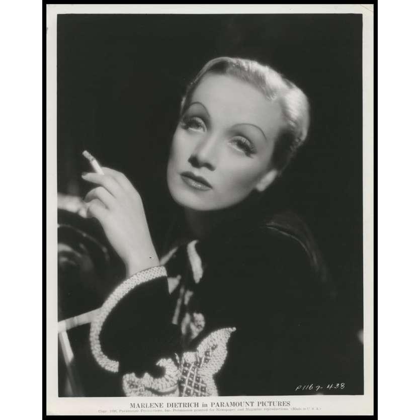 MARLENE DIETRICH Photo publicitaire très rare 1937