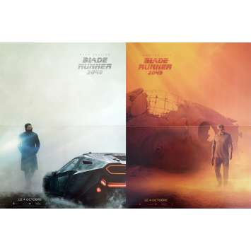 BLADE RUNNER 2049 Movie Poster set of 2 15x21 in. - 2017 - Harrison Ford