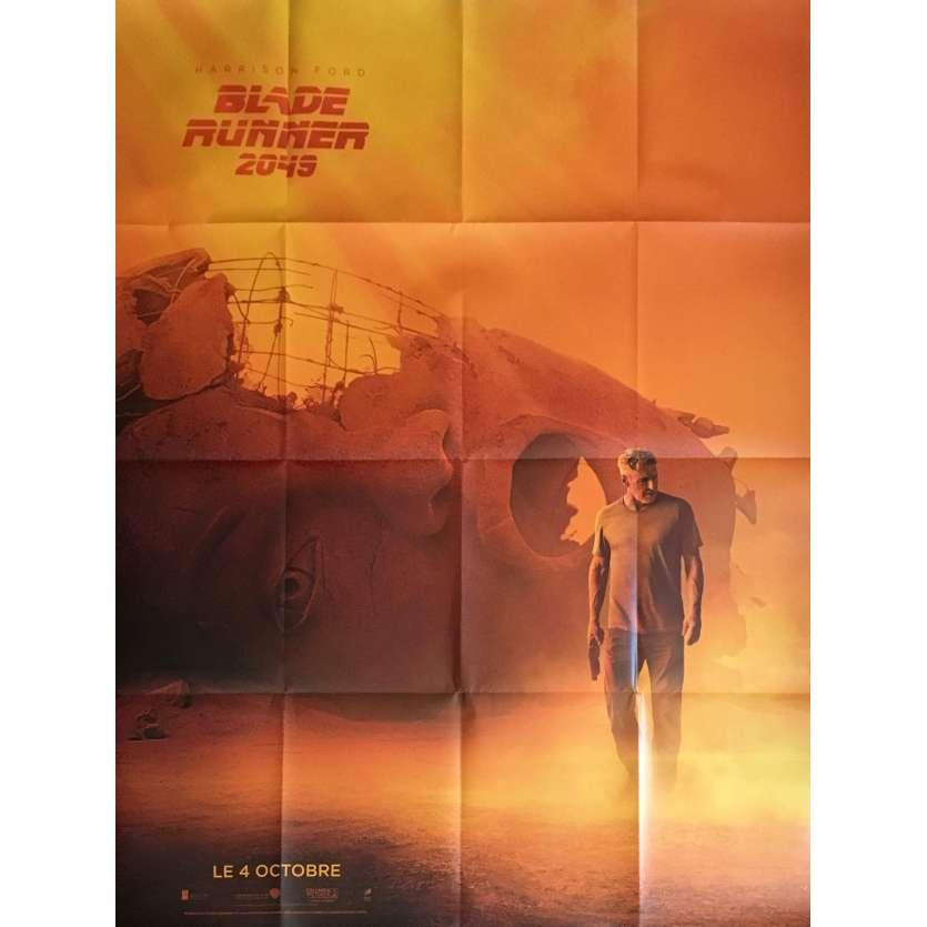 BLADE RUNNER 2049 Affiche de film 120x160 cm - Style B 2017 - Harrison Ford
