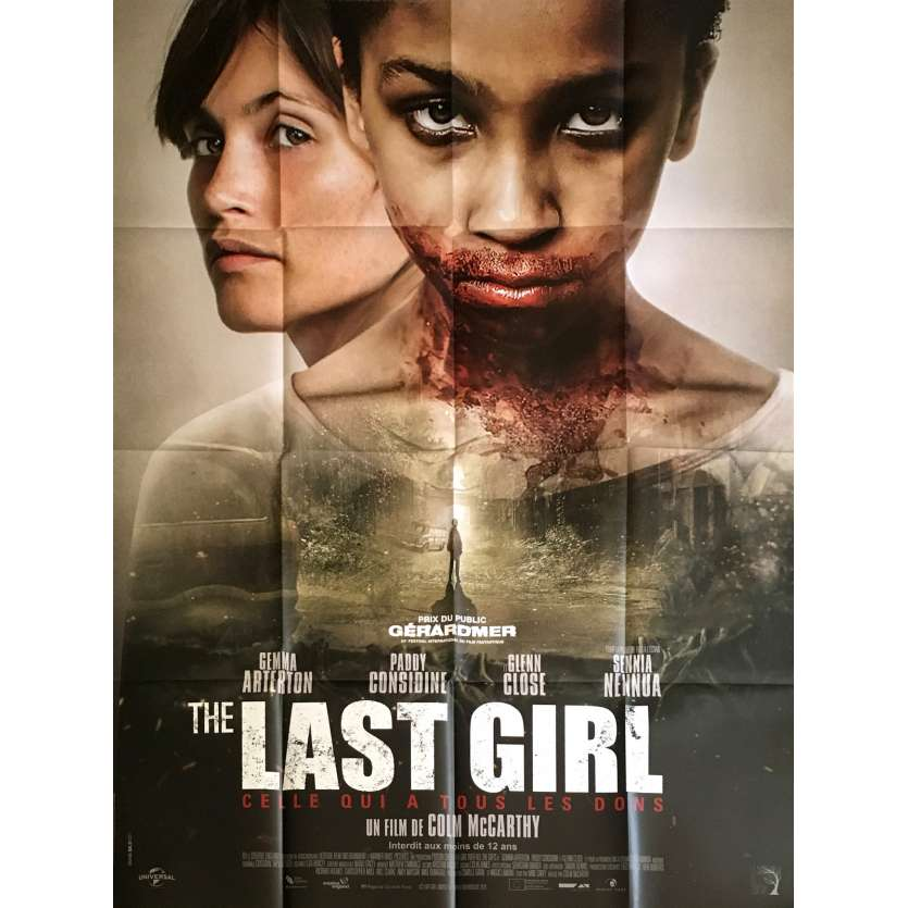 LAST GIRL Affiche de film 120x160 cm - 2017 - Gemma Arterton, Colm McCarthy
