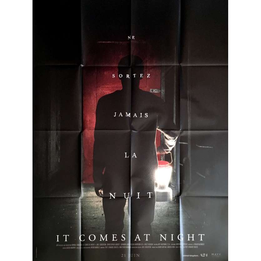 IT COMES AT NIGHT Affiche de film 120x160 cm - 2017 - Joel Edgerton, Trey Edward Shults