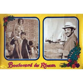 RUM RUNNERS Lobby Cards 23x32 in. - 1971 - Robert Enrico, Lino Ventura, Brigitte Bardot