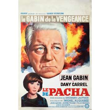 PASHA Movie Poster 14x21 in. - 1968 - Georges Lautner, Jean Gabin