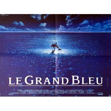 THE BIG BLUE Movie Poster 23x32 in. - 1998 - Luc Besson, Jean Reno
