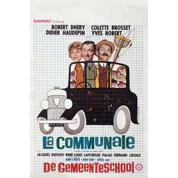 LA COMMUNALE Affiche de film 35x55 cm - 1965 - Robert Dhéry, Jean L'hôte