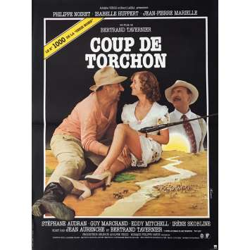 COUP DE TORCHON Movie Poster 15x21 in. - 1981 - Bertrand Tavernier, Philippe Noiret