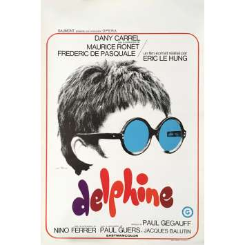DELPHINE Movie Poster 14x21 in. - 1969 - Eric Le Hung, Dany Carel