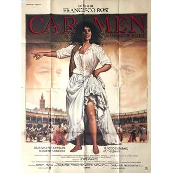 CARMEN Movie Poster 47x63 in. - 1984 - Francesco Rosi, Julia Migenes