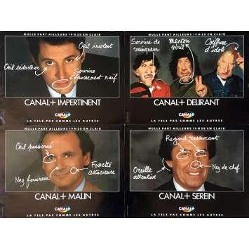 NULLE PART AILLEURS Video Poster 12x15 in. - 1994 - Philippe Gildas, Antoine de Caunes