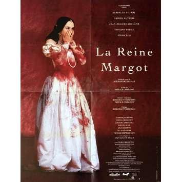 LA REINE MARGOT Affiche de film 60x80 cm - 1994 - Isabelle Adjani, Patrice Chéreau