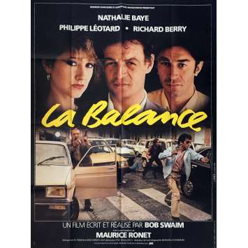 LA BALANCE Affiche de film 120x160 cm - 1982 - Nathalie Baye, Bob Swaim