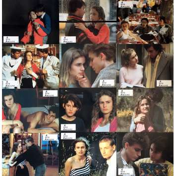 A NOS AMOURS Lobby Cards 9x12 in. - 1983 - Maurice Pialat, Sandrine Bonnaire