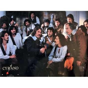 CYRANO DE BERGERAC Lobby Card 12x15 in. - N04 1990 - Jean-Paul Rappeneau, Gérard Depardieu