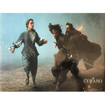 CYRANO DE BERGERAC Lobby Card 12x15 in. - N03 1990 - Jean-Paul Rappeneau, Gérard Depardieu