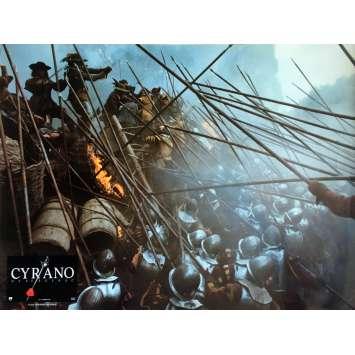 CYRANO DE BERGERAC Lobby Card 12x15 in. - N02 1990 - Jean-Paul Rappeneau, Gérard Depardieu