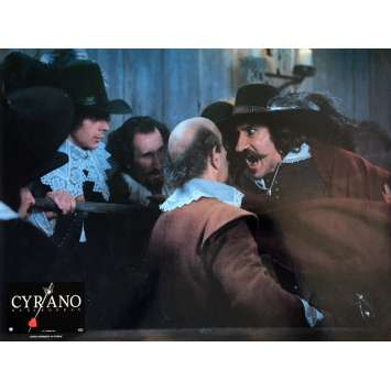 CYRANO DE BERGERAC Lobby Card 12x15 in. - N01 1990 - Jean-Paul Rappeneau, Gérard Depardieu