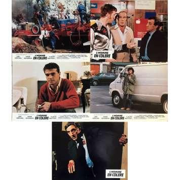 L'HOMME EN COLERE Photos de film 21x30 cm - 1979 - Lino Ventura, Claude Pinoteau