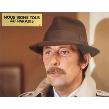 PARDON MON AFFAIRE, TOO! Lobby Card 9x12 in. - N03 1977 - Yves Robert, Jean Rochefort